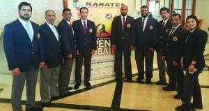 حكام السلطنة للكاراتيه يشاركون في بطولة الدوري العالمي بدبي