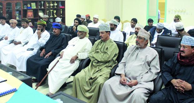 اجتماع الجمعية العمومية لنادي صلالة
