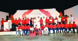 الأولمبياد الخاص العماني يكرم لاعبيه والجهات والمؤسسات الداعمة للجمعية ويدشن أكاديمية إعداد القادة