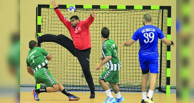 مجيس يستضيف اليوم نادي عمان في افتتاح دوري الدرجة الأولى لكرة اليد