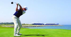 في بطولة البنك الوطني للجولف… اليوم شهاب بن طارق يتوج الفائزين وصدارة مشتركة بين ماثيو وبول وارنج وماثيو بافون