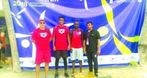 القاسمي ثامنا في البطولة الآسيوية الثامنة للسباحة في المياه المفتوحة لمسافة 5 كيلو بتايلاند
