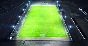 بنك مسقط يحتفل بافتتاح الملعب المعشب الجديد لفريق الخشبة الرياضي بولاية المضيبي