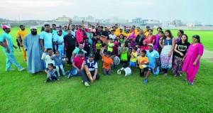 اولمبياد عمانتل تواصل ألعابها الرياضية وسط أجواء تنافسية