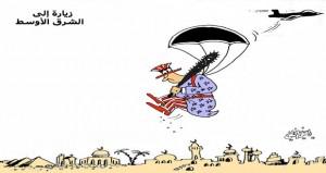 زيارة إلى الشرق الأوسط