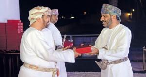تكريم موظفي ديوان البلاط السلطاني