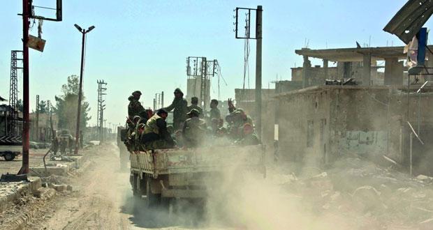 الجيش السوري يتعهد بعودة الغوطة لـ(حضن الدولة) ويواصل عملياته ضد الإرهابيين