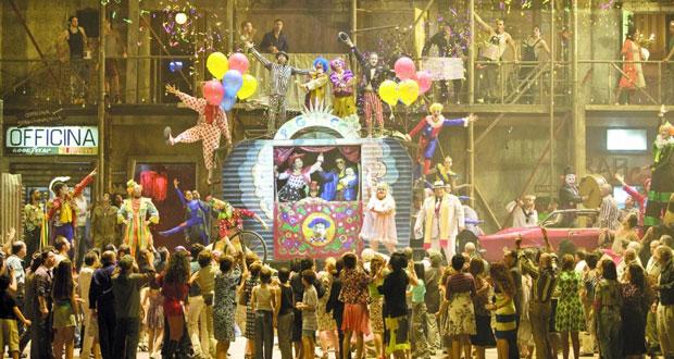 """أوبرا """"المهرج"""" على خشبة مسرح دار الأوبرا السلطانية مسقط"""