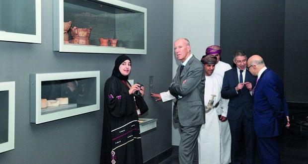 وفد المنظمة العالمية للملكية الفكرية يزور المتحف الوطني