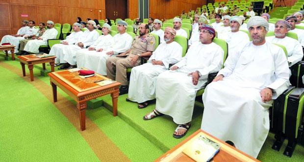 المشاركون في الدورة الخامسة بكلية الدفاع الوطني يناقشون التحديات والتوصيات