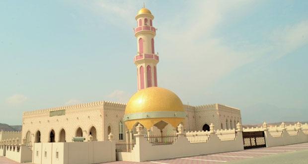 افتتاح جامع حيل الغاف بقريات اليوم