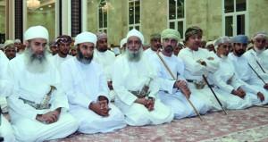 رئيس مجلس الشورى يفتتح جامع حيل الغاف بقريات
