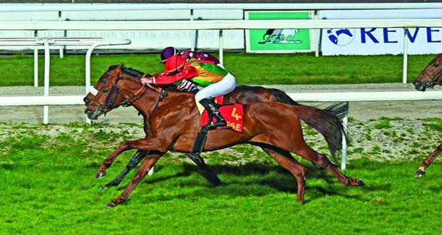 الحصان صالح للخيالة السلطانية يواصل تألقه في سباقات الخيل الفرنسية