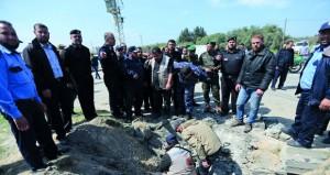 انفجار يستهدف موكب رئيس وزراء فلسطين ورئيس جهاز مخابراتها بغزة