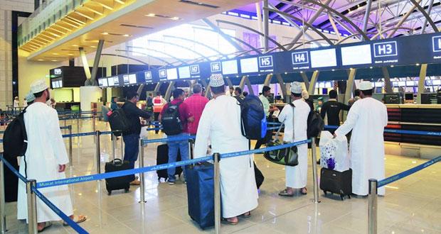 بدء أولى الرحلات التجريبية الحية بمبنى المسافرين الجديد لمطار مسقط الدولي