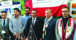 طلبة السلطنة يشاركون في الأسبوع الثقافي العربي بموسكو