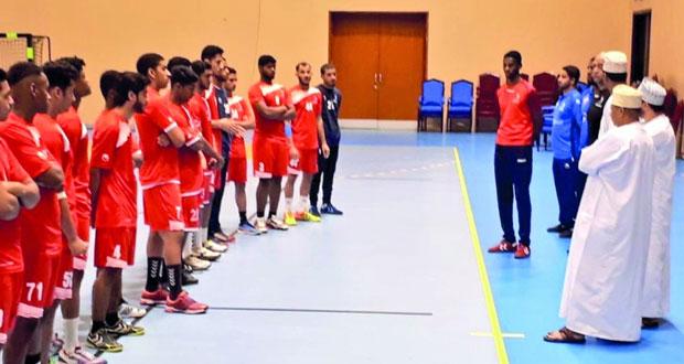 استعدادا للبطولة الآسيوية منتخب شباب اليد يختتم معسكره الداخلي الأول
