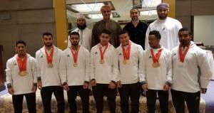 منتخب رفع الإثقال يحقق المركز الثالث بعد العراق والسعودية في ختام غرب آسيا بالبحرين