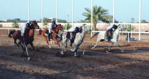 الخيالة السلطانية ومدرعات سلطان عمان تتصدر منافسات درع الوزارة لالتقاط الأوتاد بالرحبة برعاية الحبسي