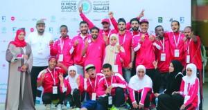 أبطال الأولمبياد الخاص العماني يحصدون 19 ميدالية متنوعة في اليوم الأول للمنافسات