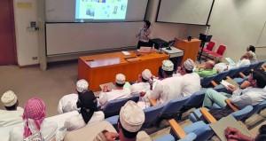 """تواصل الحلقات العلمية عن """"تقنية النانو"""" في جامعة السلطان قابوس"""