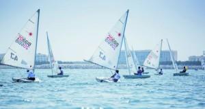 """بهدف اكتشاف المواهب الواعدة بين الطلاب الإبحار الشراعي على قائمة منافسات """"الأيام الأولمبية المدرسية"""""""
