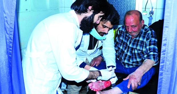 سوريا: قذائف الإرهاب تستهدف أحياء سكنية بدمشق .. وتسقط 44 قتيلا بجرمانا