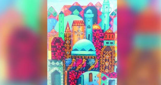 القدس لنا.. معرض للتشكيلية مها المحيسن