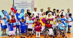 الشئون الرياضية بجنوب الشرقية تنفذ يوما رياضيا ترفيهيا لذوي الإعاقة