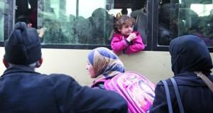 الجيش السوري يحرر (عين ترما) .. مع خروج دفعة أولى من المسلحين حرستا