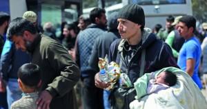 دمشق تخير المسلحين في دوما بين الانسحاب أو الحرب