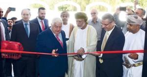 افتتاح المبنى الجديد لسفارة سوريا بالسلطنة