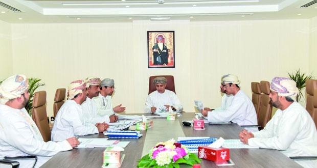 مجلس إدارة الهيئة العامة للتعدين يستعرض محاور استراتيجية عمان للتعدين