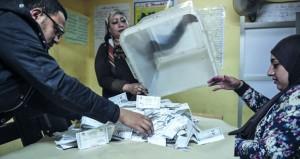 مصر: مؤشرات أولية بتقدم السيسي في انتخابات الرئاسة