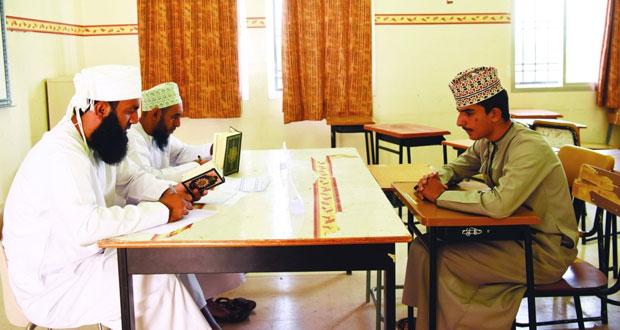 414 متسابقاً ومتسابقة يتنافسون في مسابقة إزكي القرآنية