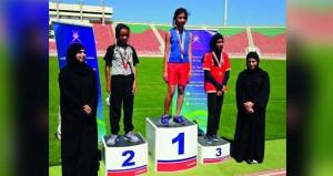 وزارة الشؤون الرياضية تختتم مسابقة ألعاب القوى للفتيات في مسابقة الأيام الرياضية