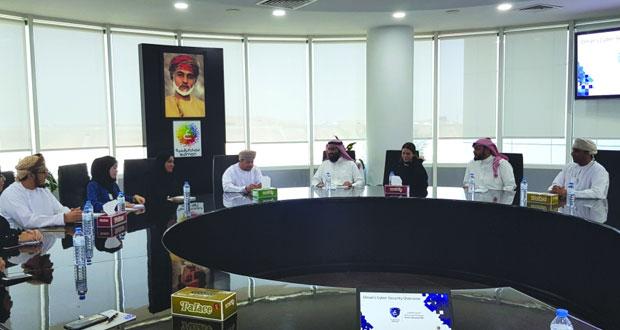 وفد بحريني يتعرف على دور«الوطني للسـلامة المعلوماتية» و«سـاس لريادة الأعمال»