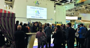 إقبال على جناح السلطنة في معرض سوق السفر العالمي ببرلين
