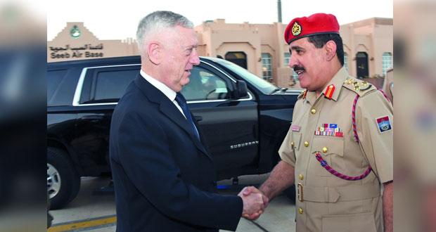 وزير الدفاع الأميركي يغادر البلاد