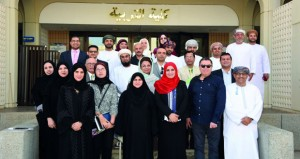 افتتاح ملتقى الفنان المقيم الثالث في جامعة السلطان قابوس