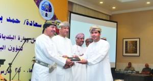 تكريم الجهات الإعلامية والإعلاميين المشاركين فـي فعاليات مهرجان مسقط