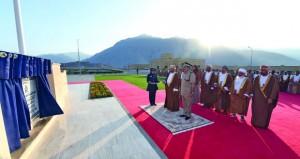 الاحتفال بافتتاح وحدة شرطة المهام الخاصة بخصب وتخريج فصائل من المستجدين
