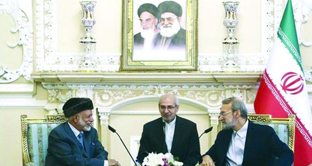الوزير المسؤول عن الشئون الخارجية يلتقى عددا من المسئولين الإيرانيين
