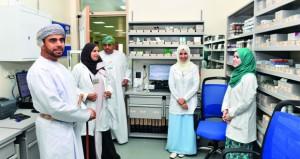 الاحتفال بافتتاح مركز حي الجامع الصحي بالسيب