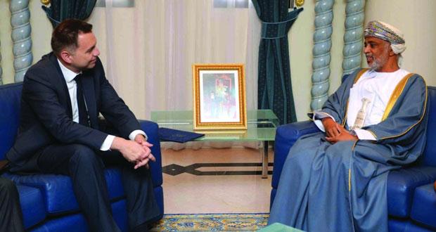 الأمين العام بوزارة الدفاع يستقبل وزير المالية بسلوفاكيا