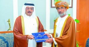 تبادل وثائق مذكرة التفاهم في مجال البيئة بين السلطنة وقطر