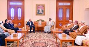 """رئيس مجلس الشورى يستقبل وفد لجنة الصداقة البرلمانية """"العمانية ـ الأردنية"""""""