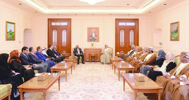 تعزيز التعاون المشترك بين السلطنة والأردن في المجال البرلماني