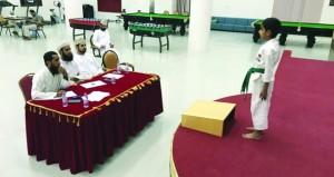 أكاديمية الكاراتيه بالسلطنة تواصل تنفيذ مسابقتها السنوية