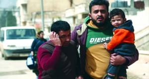 القوات التركية وحلفاؤها يسيطرون على مدينة عفرين السورية